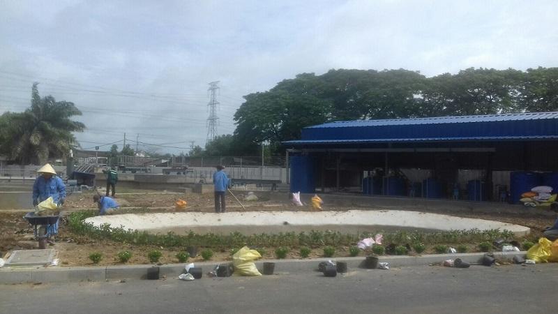 Ngoại Thất Xanh - Công ty trồng cỏ và cắt cỏ tại HCM, TÂy Ninh, Bình Dương, Long An
