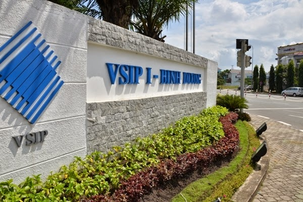 Dịch vụ chăm sóc cây xanh tại VSIP 1 Bình Dương